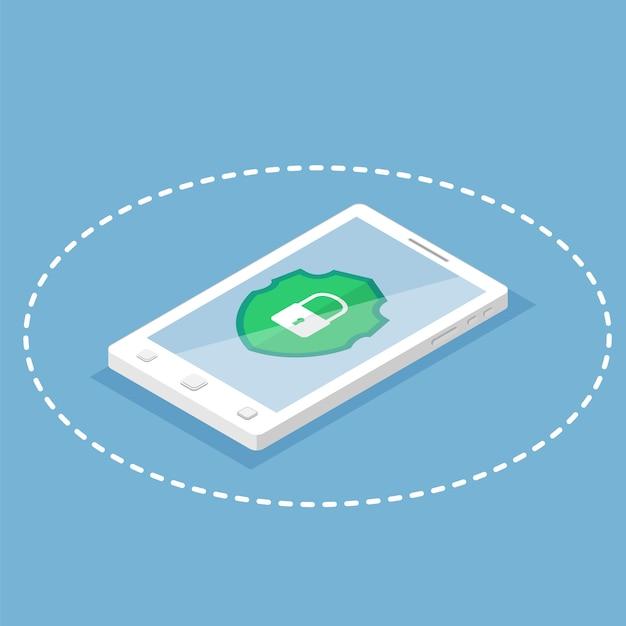 Proteção contra hackers Vetor Premium