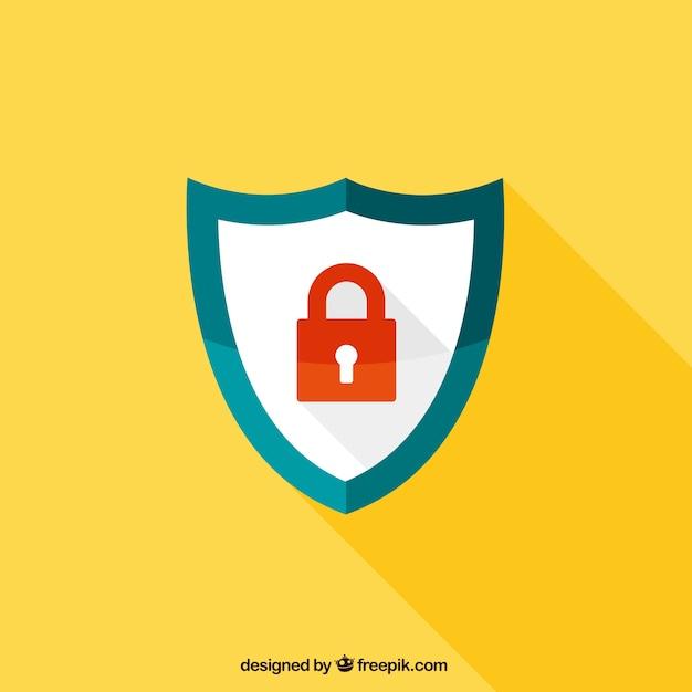 Protetor da segurança Vetor grátis