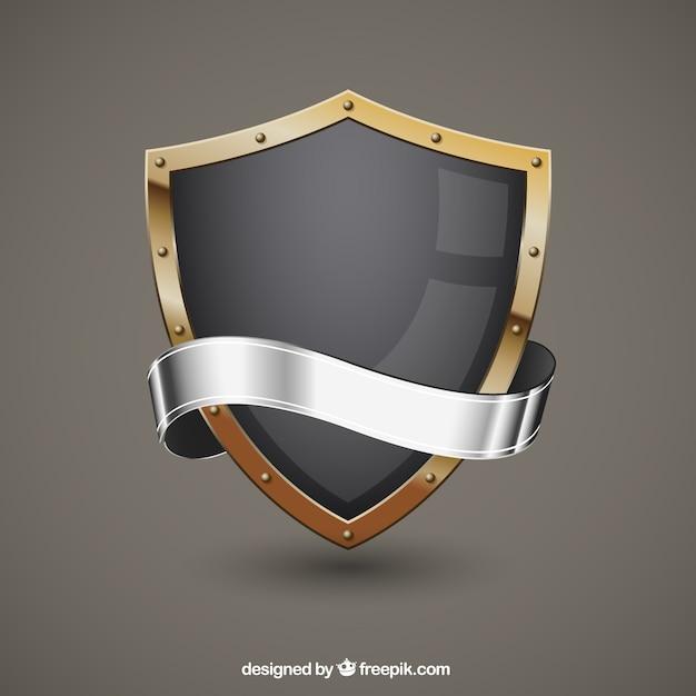 Protetor metálico Vetor grátis
