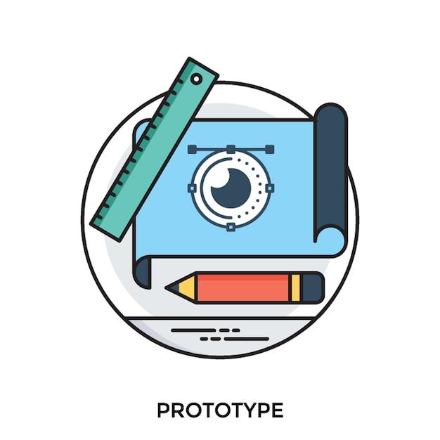 Protótipo | Vetor Premium