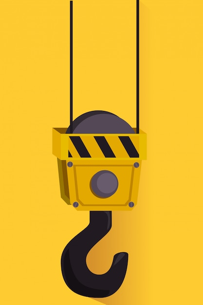 Publicidade gráfica em construção Vetor grátis