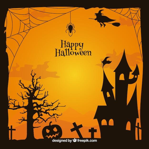quadro cl u00e1ssico de halloween com casa assombrada baixar haunted house clipart png free clipart haunted house
