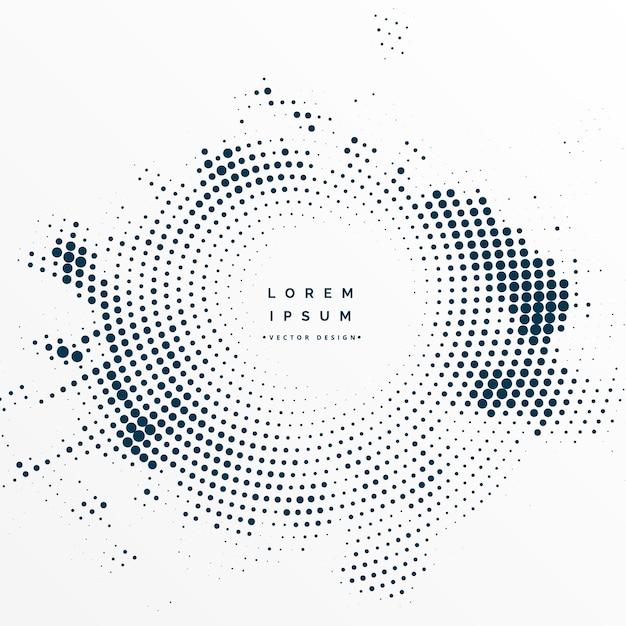 Quadro de textura de meio-tom com espaço de texto Vetor grátis