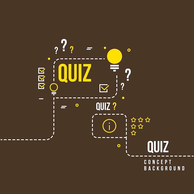 Quizzes Vetor Premium