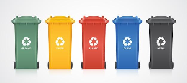 Reciclagem Vetor Premium