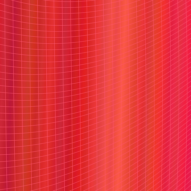 Red dinâmico abstrato geométrico fundo da grade - design gráfico vetorial de curvas angulares curvas Vetor grátis