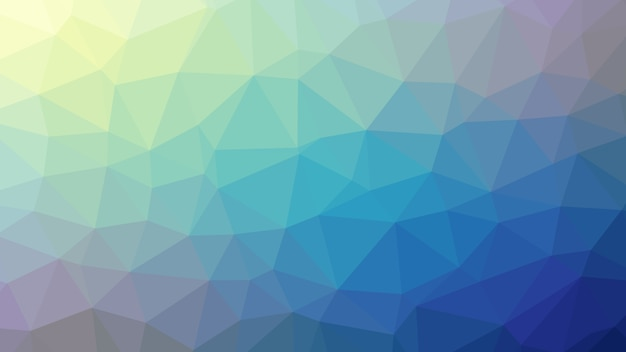 Resumo de fundo colorido azul polígono triângulo diamantes Vetor Premium