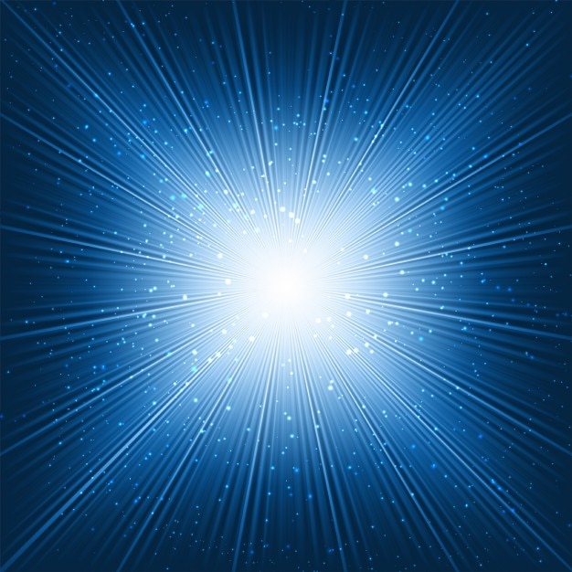 Resumo de fundo com um design starburst Vetor grátis