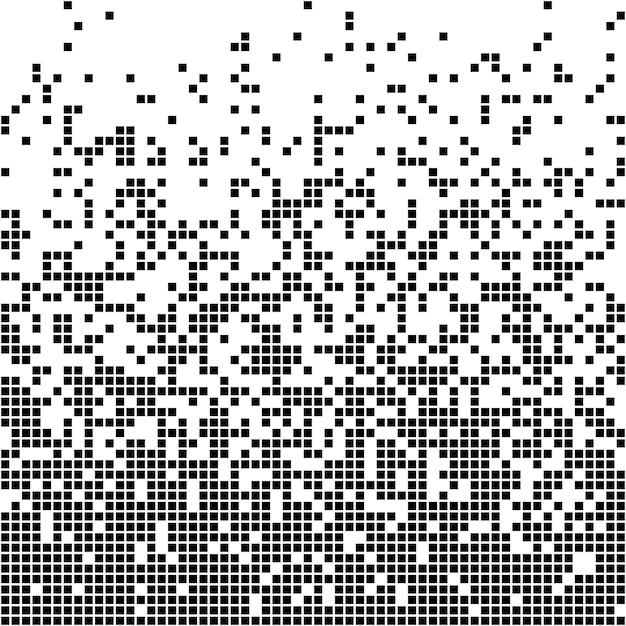 Resumo de pixel Vetor Premium