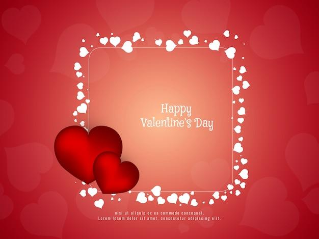 Resumo Feliz Dia dos Namorados com estilo Vetor grátis