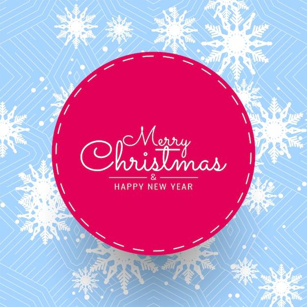Resumo feliz natal festival saudação fundo Vetor grátis