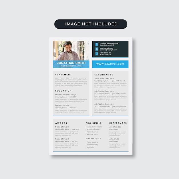 Resumo minimalista limpo Vetor Premium