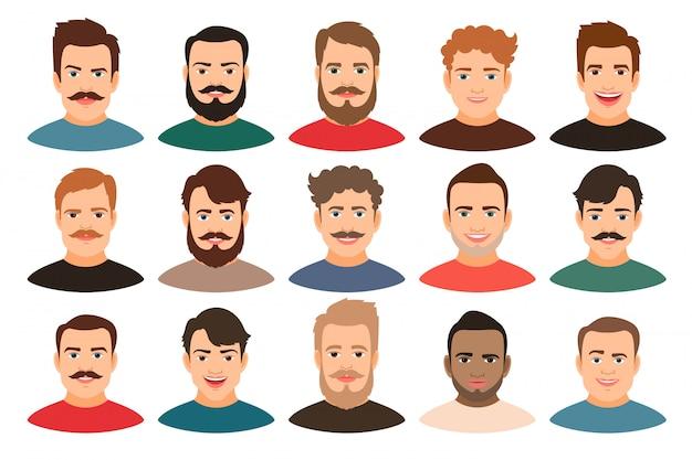 Retratos Novos Consideraveis Do Individuo Dos Desenhos Animados