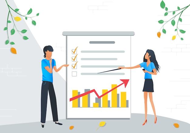 Reunião de pessoas de negócios Vetor Premium