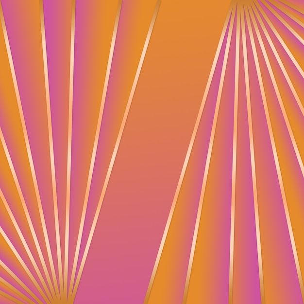 Rosa e laranja degradê abstrato Vetor Premium