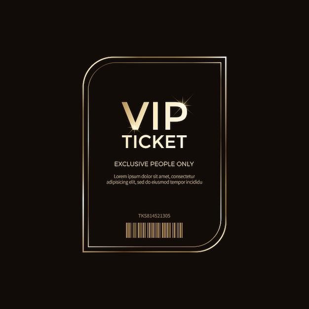 Rótulos e objetos vip de luxo Vetor Premium