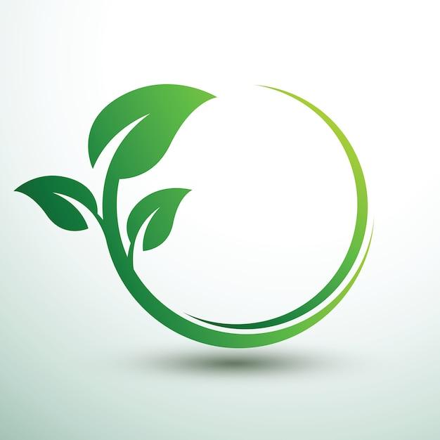 Rótulos verdes2 Vetor Premium