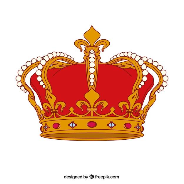 Royal crown Vetor grátis