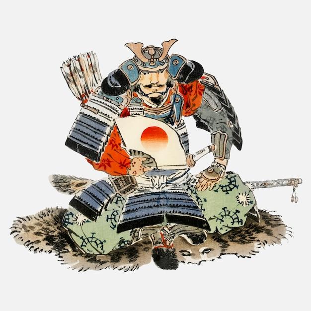 Samurai Vetor grátis