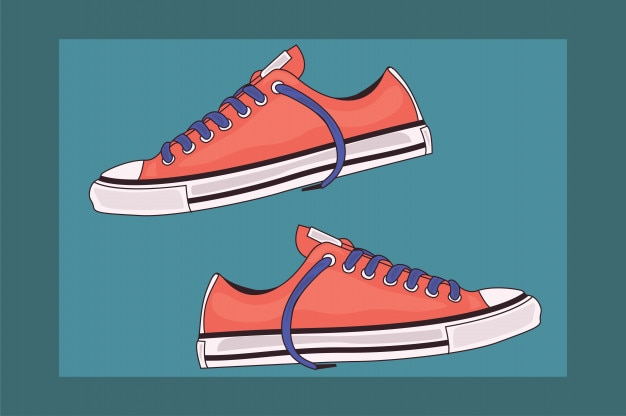 Sapatos Vetor Premium