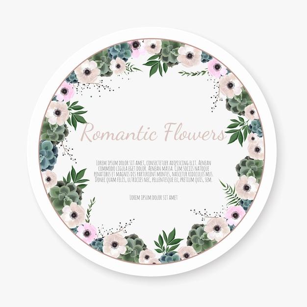 Saudação, modelo de convite de casamento de cartão postal. Vetor Premium