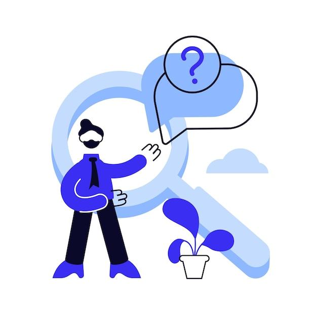 Seção de perguntas frequentes do site. helpdesk ao usuário, suporte ao cliente, perguntas frequentes. Vetor Premium