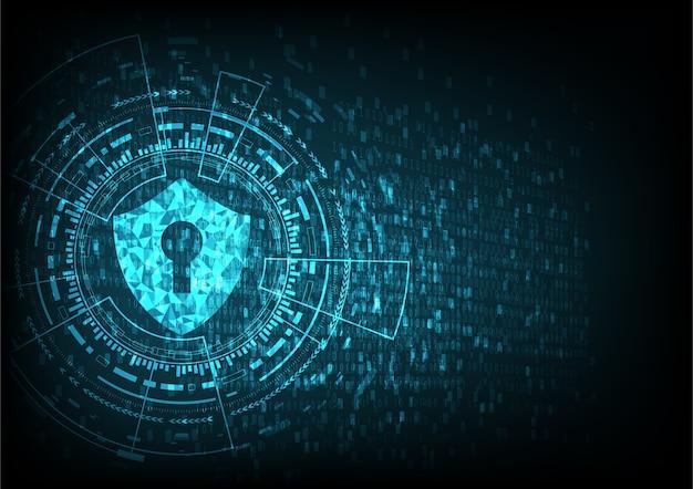 segurança tecnológica Vetor Premium
