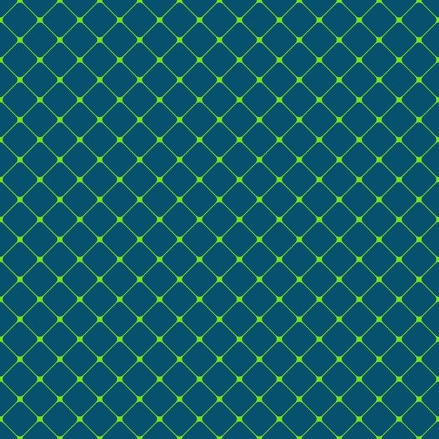 Sem emenda quadrado redondeado quadrado padrão de fundo - design vetorial a partir de quadrados diagonais Vetor grátis