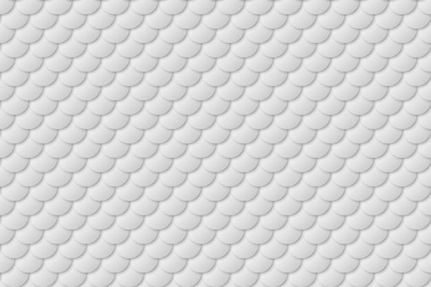 Sereia cauda folha textura efeito sem costura padrão Vetor Premium