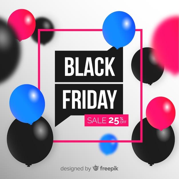 Sexta-feira negra colorida em design plano Vetor grátis