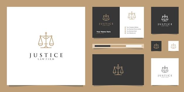 Símbolo da lei da justiça premium. escritório de advocacia, escritórios de advocacia, serviços de advogado, inspiração de design de logotipo de luxo. Vetor Premium