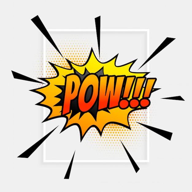 Símbolo de bolha de expressão de discurso em quadrinhos Vetor grátis