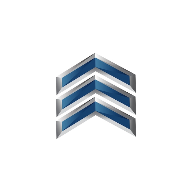 Símbolo de seta em design moderno para design de elementos Vetor Premium