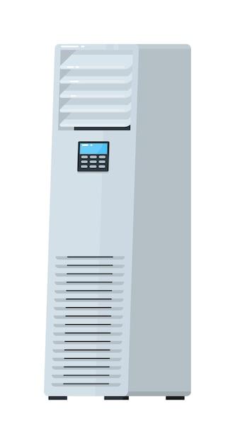 Sistema de ar condicionado montado no piso Vetor Premium