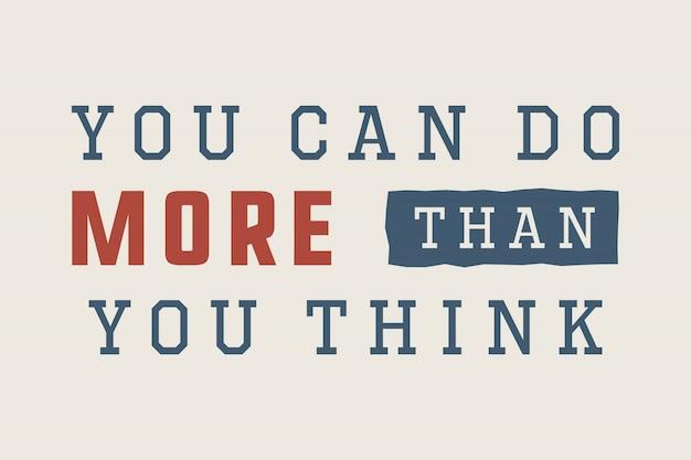Slogan do esporte com motivação Vetor Premium