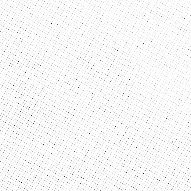 Sobreposição de textura de vetor de pontos de meio-tom sutil Vetor Premium
