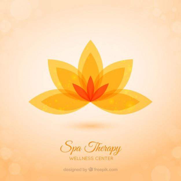 Spa background terapia Vetor Premium