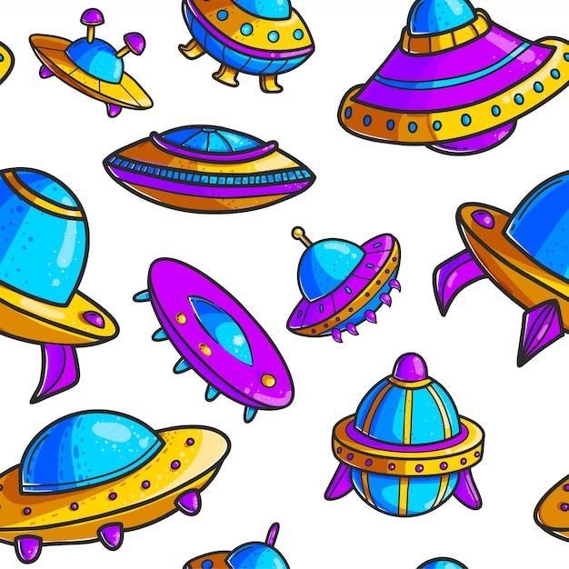 Space_patterns Vetor Premium