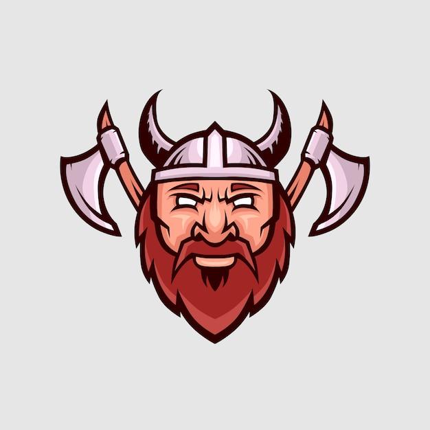 Spartan esports logo ilustração Vetor Premium