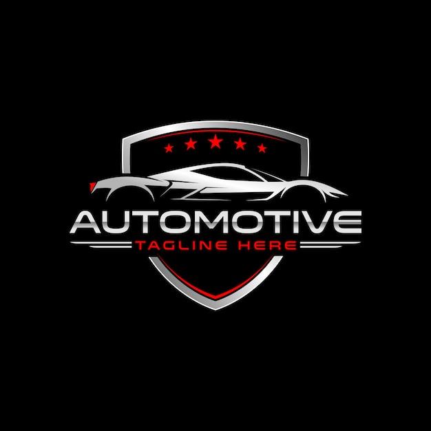 Sport car Vetor Premium