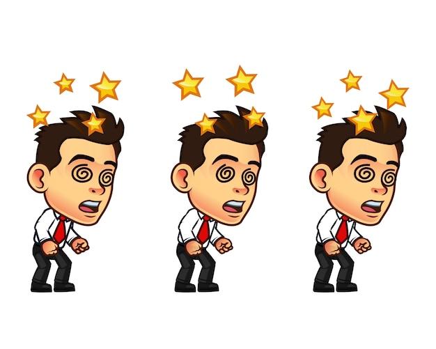 Sprite cute cartoon cartoon Vetor Premium