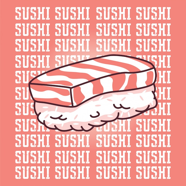 Sushi Vetor Premium