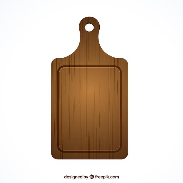 Tábua de madeira Vetor grátis