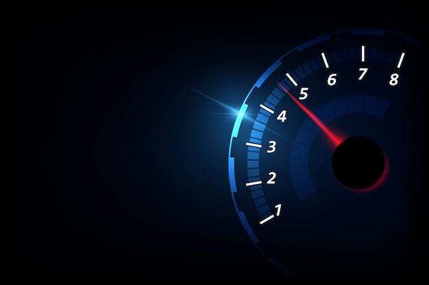Tacômetro Vetor Premium