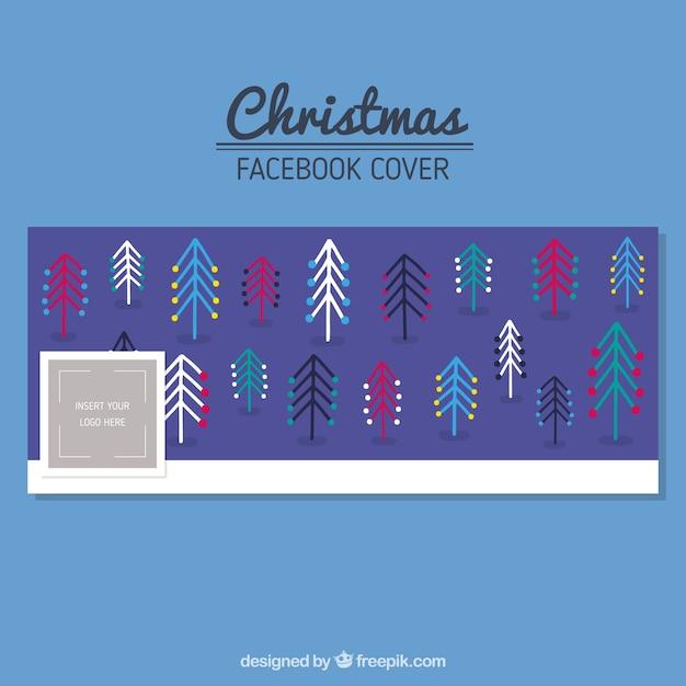 tampa Modern facebook árvores de natal Vetor grátis 453a0fcb9632d