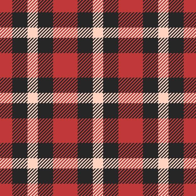 Tartan clássico, guingão, búfalo, lamberjack, feliz natal verificar padrão sem emenda xadrez Vetor Premium