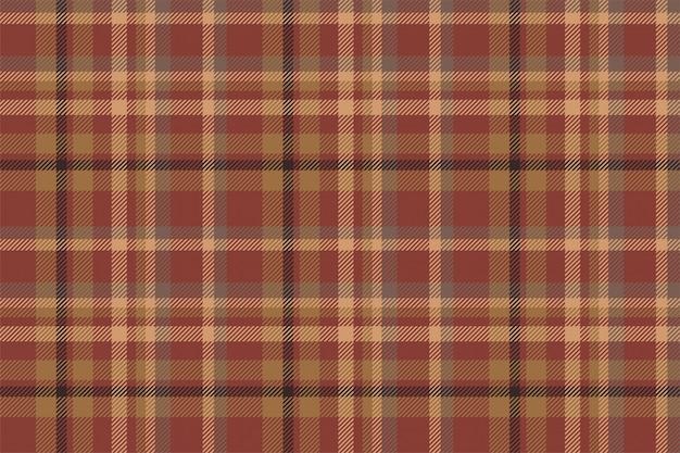 Tartan escócia sem costura padrão xadrez vector. Vetor Premium