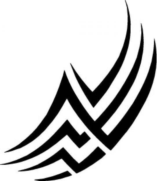 Tatuagem tribal linhas de design baixar vetores gr tis for Design architettonico gratuito