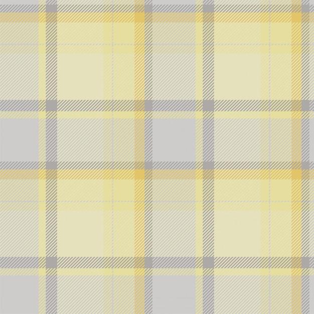 Tecido de fundo sem costura padrão xadrez tartan escócia, textura quadrada de seleção vintage cor geométrica, Vetor Premium