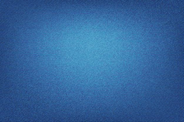 Tecido de textura jeans de jeans abstrata como pano de fundo. Vetor Premium